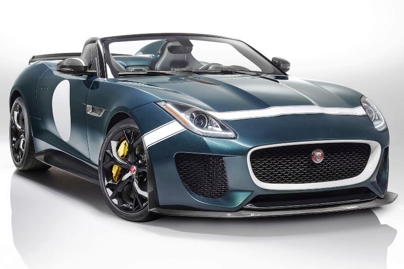 Мощность нового Jaguar F-Type Project 7 поражает