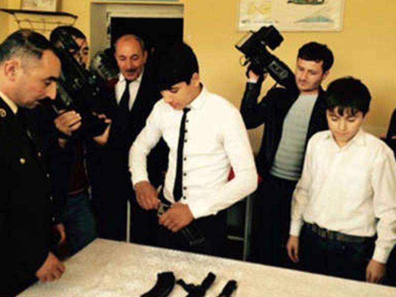 Азербайджанские журналисты побывали на линии фронта