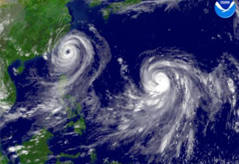 В Китае 80 человек пострадали из-за тайфуна