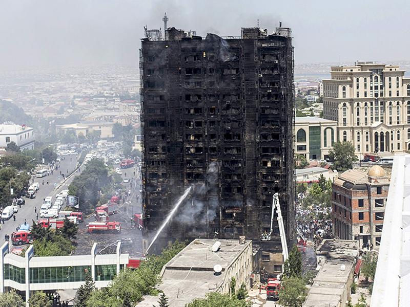 Картинки по запросу в Баку произошел страшный пожар