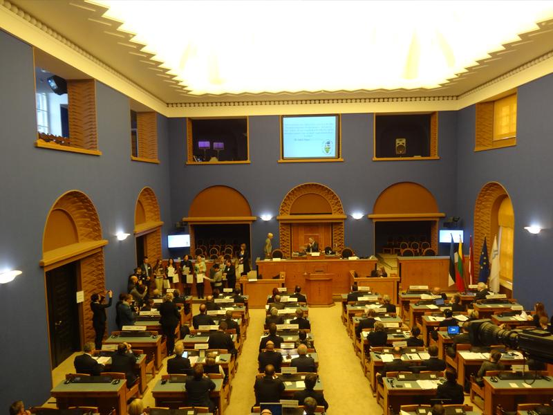 Азербайджан принял участие в работе Балтийской Ассамблеи в Таллине