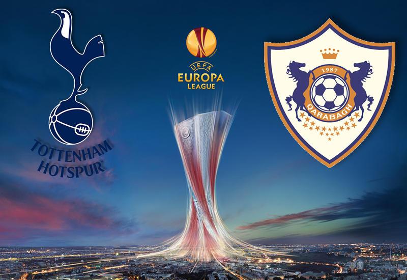 "Лига Европы: ""Карабах"" проиграл ""Тоттенхэм"" <span class=""color_red""> - ОБНОВЛЕНО </span>"