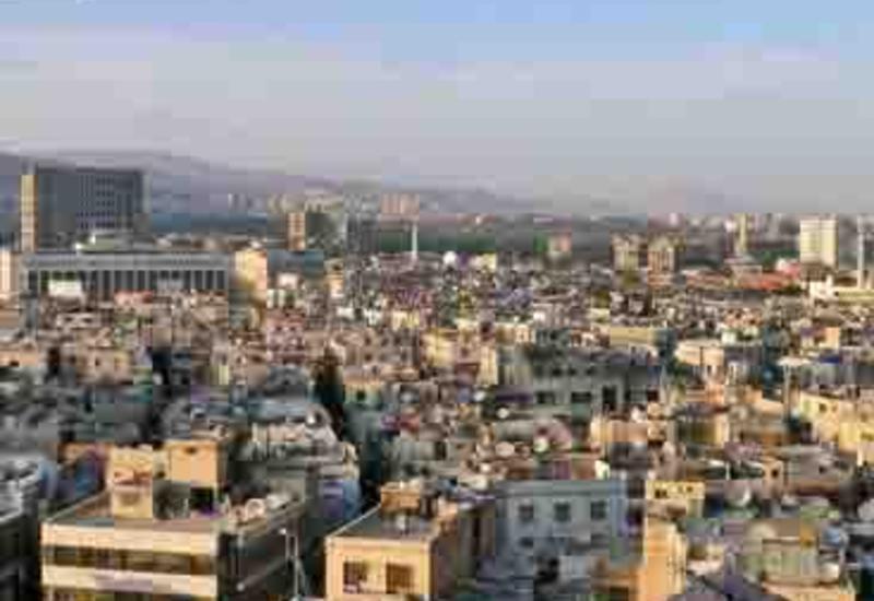 На территории посольства России в Дамаске упал минометный снаряд