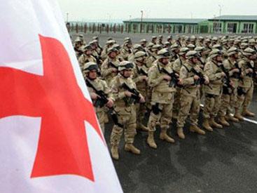 Грузинские военнослужащие покидают Афганистан