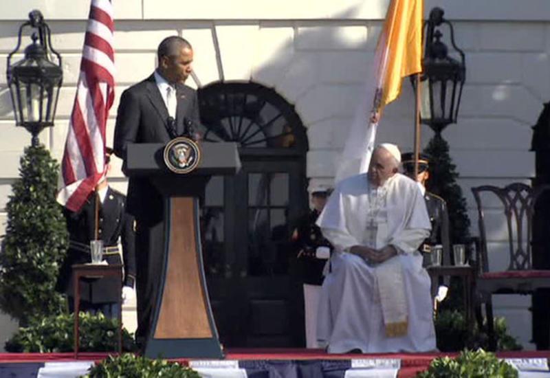 Папа Римский впервые в США