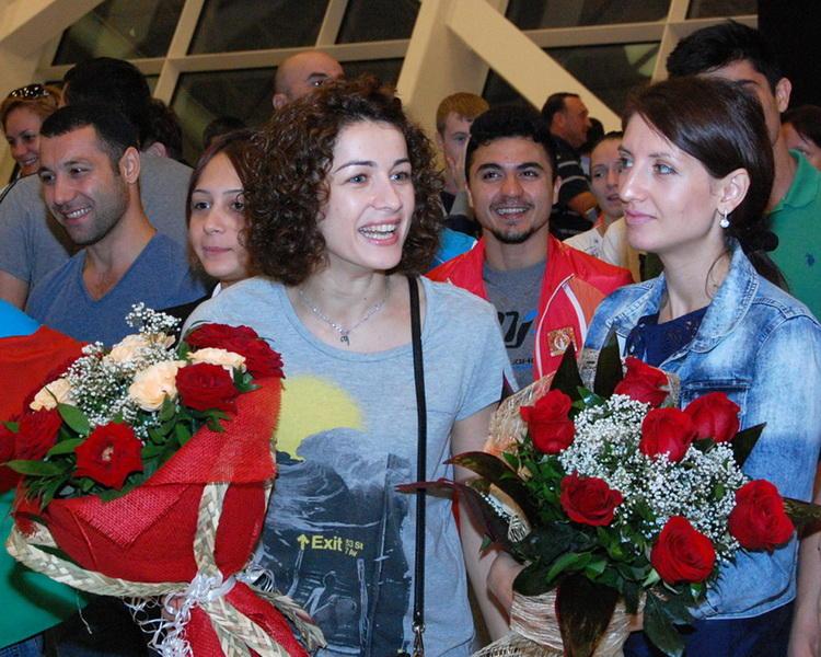 Азербайджанские гимнасты успешно выступили на Европейских соревнованиях