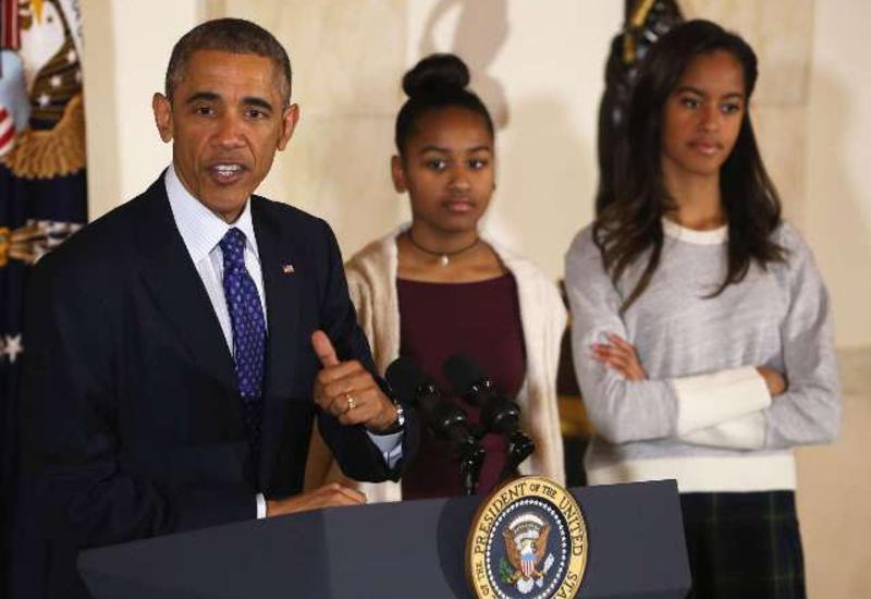 Обама рассказал, с кем хотят познакомиться его дочери
