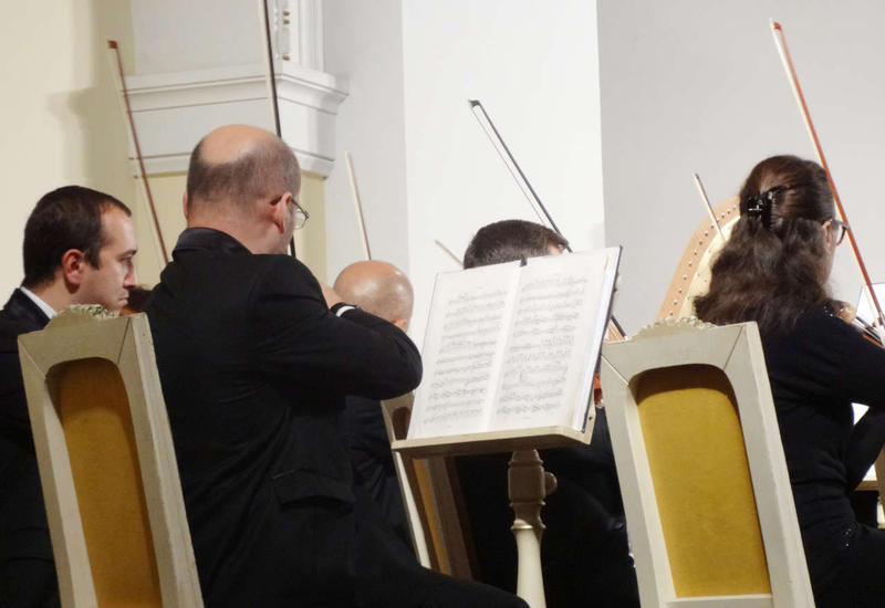 «Диалог между Данте и Физули» в Баку
