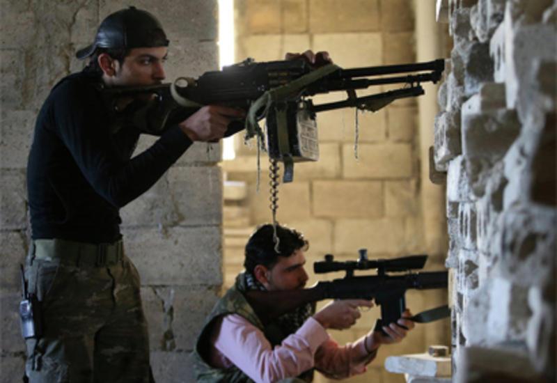 """Сирийская армия громит боевиков """"ИГ"""""""