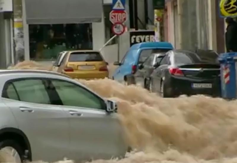 Кошмар в Афинах - город уходит под воду
