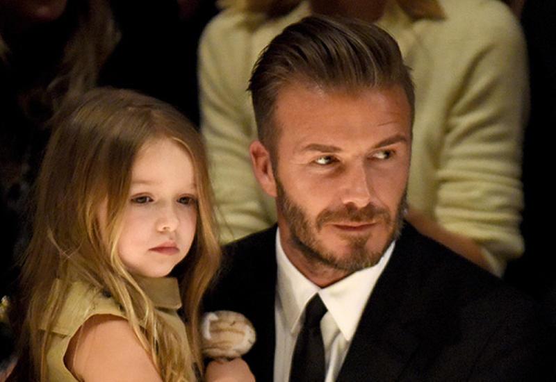 Дэвид Бекхэм посвятил маленькой дочери новое тату