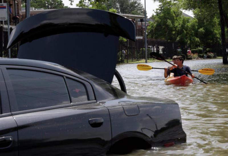 Техас уходит под воду