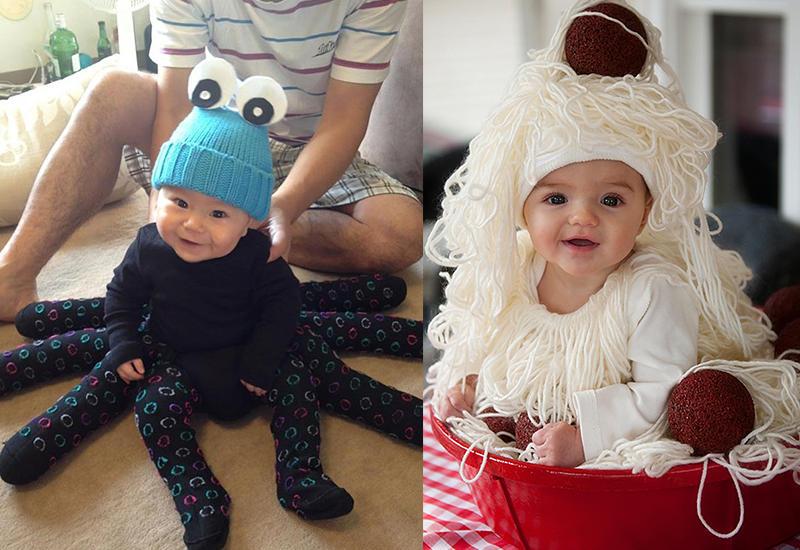 Ужасно милые костюмы детишек на Хэллоуин