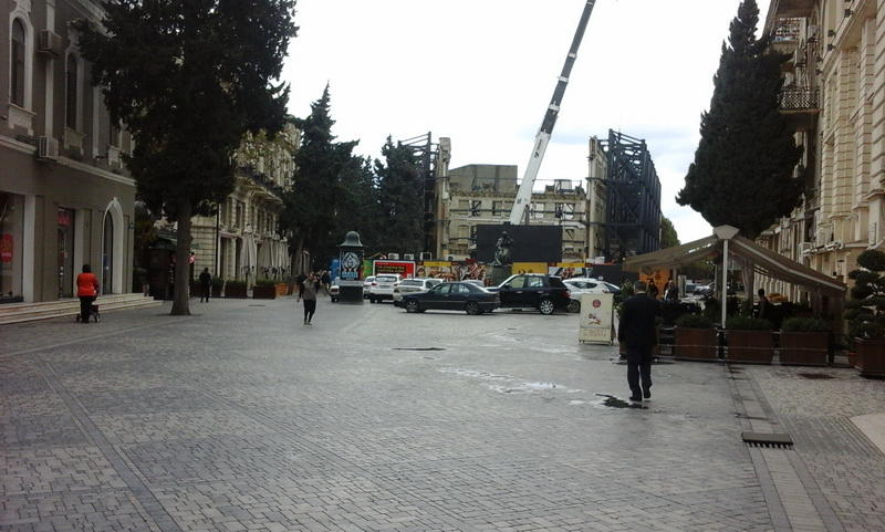 """Стало известно, что будет на месте кинотеатра """"Азербайджан"""""""