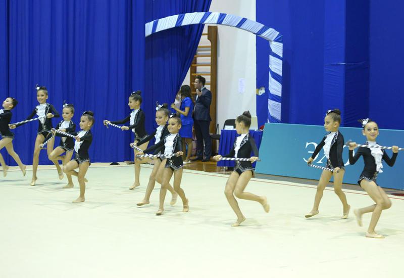 Завершились XXII Чемпионат и Первенство Баку по художественной гимнастике