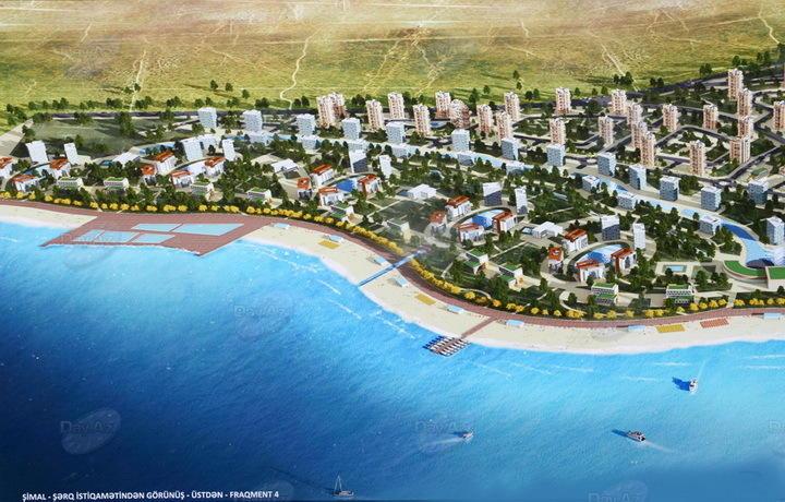 На берегу Каспия построят современный город