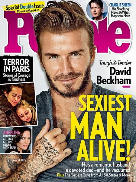 Журнал People назвал самого сексуального мужчину 2015 года
