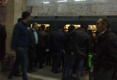 "Bakı metrosunda <span class=""color_red"">TƏŞVİŞ</span>"