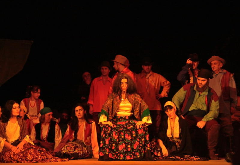 Цыганская месть на сцене Театра оперы и балета