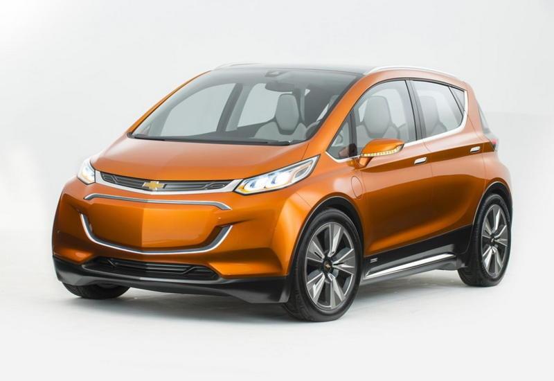 Первой премьерой 2016 года станет электромобиль Chevrolet