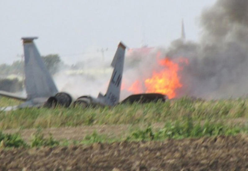 В Саудовской Аравии разбился военный самолет