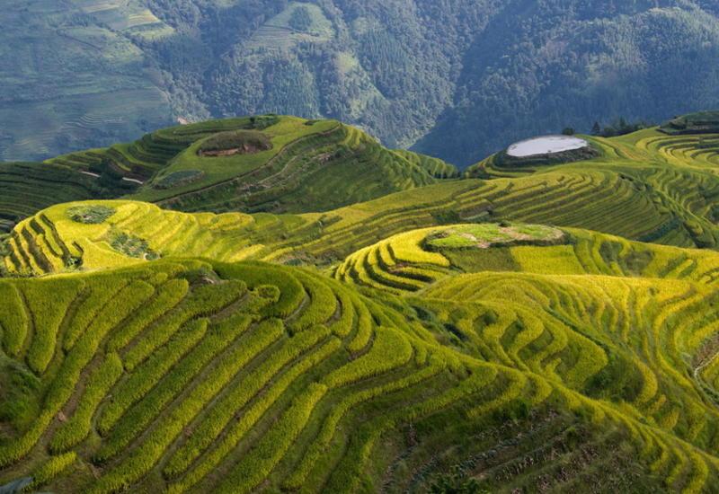 Красоты Китая с высоты птичьего полета
