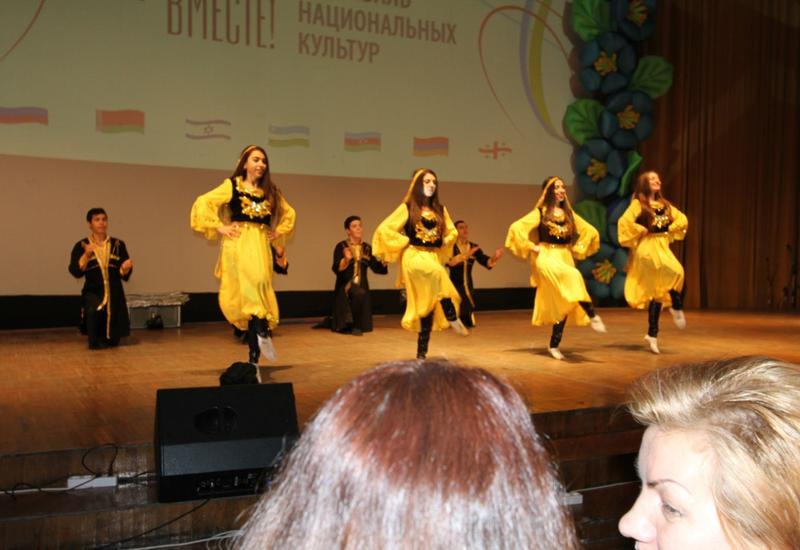 """Азербайджан на фестивале национальных культур """"Мы вместе!"""" в Липецке"""