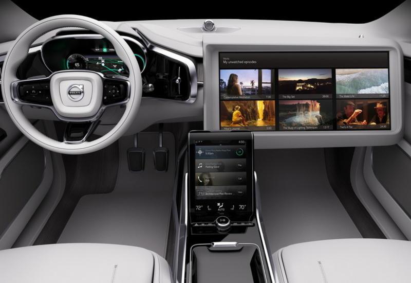 """Volvo продемонстрировала концептуальную """"машину времени"""""""