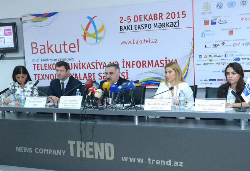 Стартует международная выставка Bakutel 2015