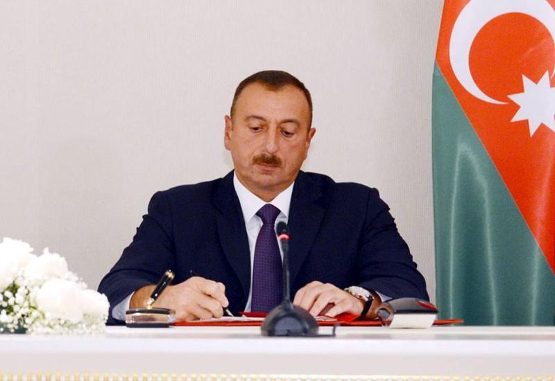 Prezident İlham Əliyev  naziri işdən azad etdi