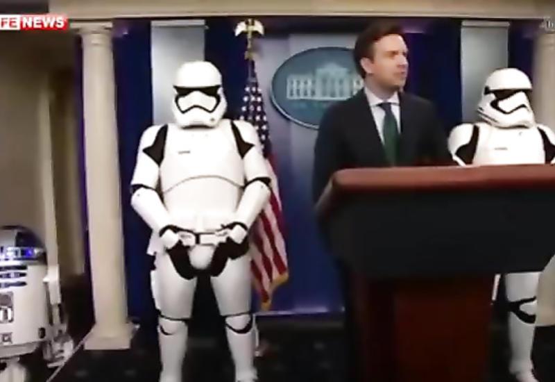 Штурмовики из «Звёздных войн» теперь в Белом доме