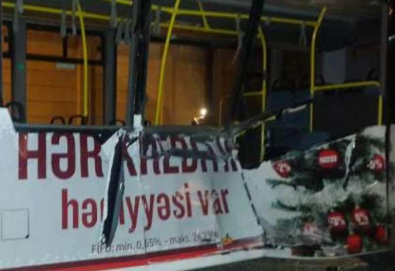 Bakıda dəhşətli avtobus qəzası