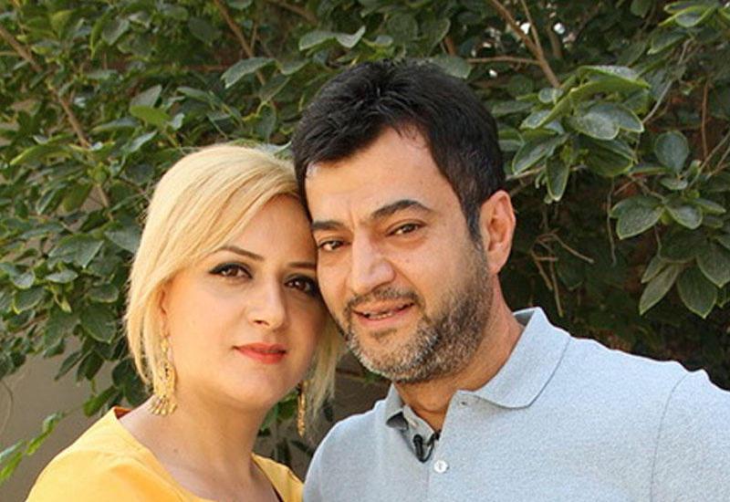 Coşqun Rəhimov xanımı ilə