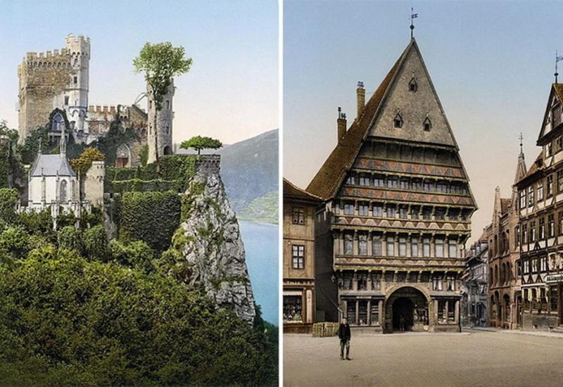Редкие цветные фотографии: как выглядела Германия до Первой мировой
