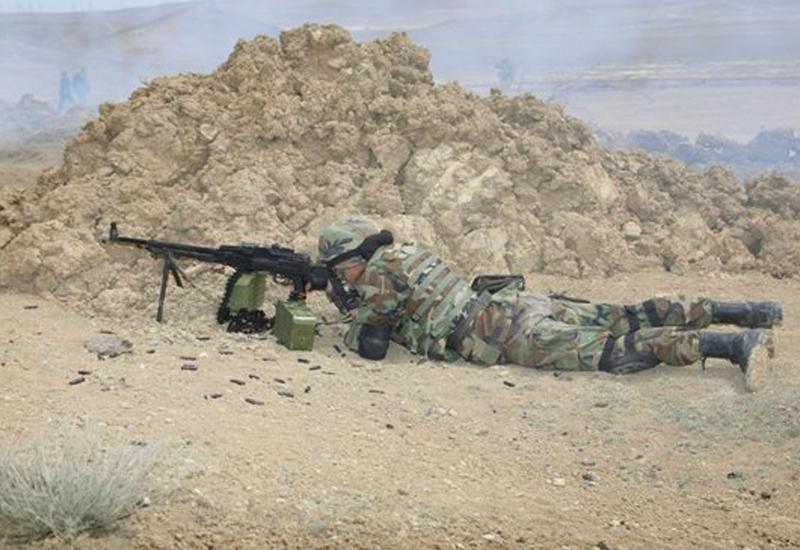 Армяне обстреляли ночью Тертерский и Агдамский районы