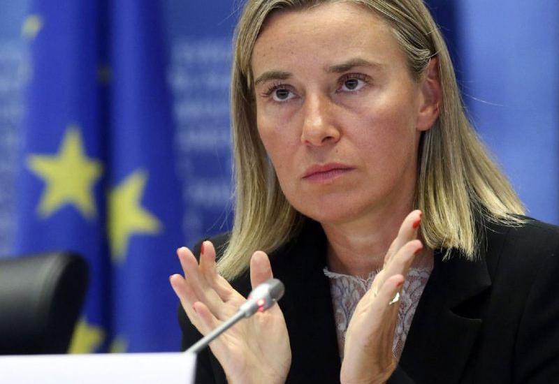 """Могерини отложила визит в Минск и мероприятие по """"Восточному партнерству"""""""