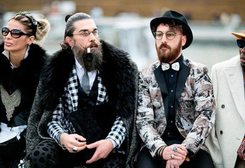 Искусство стиля на выставке мужской моды Pitti Uomo