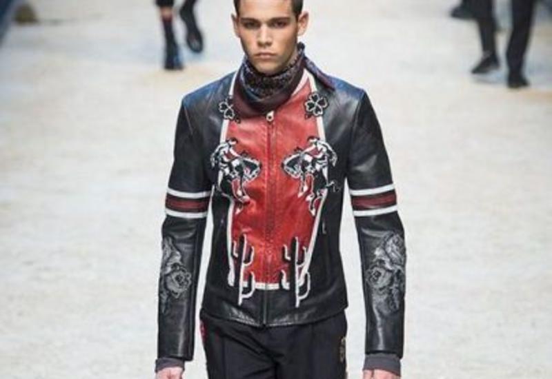 Спагетти, ковбои и револьверы в коллекции Dolce & Gabbana Fall/Winter 2016 на Milan Fashion Week