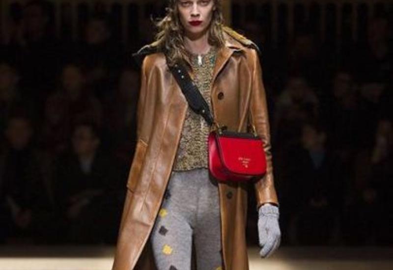 Prada Fall/Winter 2016 на Milan Fashion Week