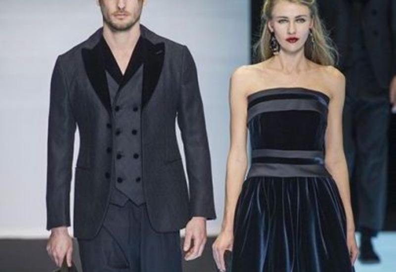 Giorgio Armani Fall-Winter 2016/17 на Milan Fashion Week