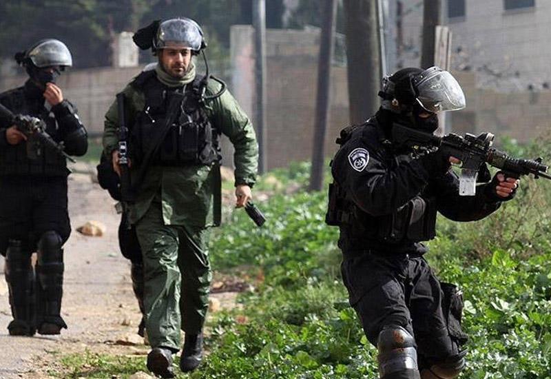 İsrail hərbiçiləri fələstinlilərə atəş açdı: 15 yaralı var