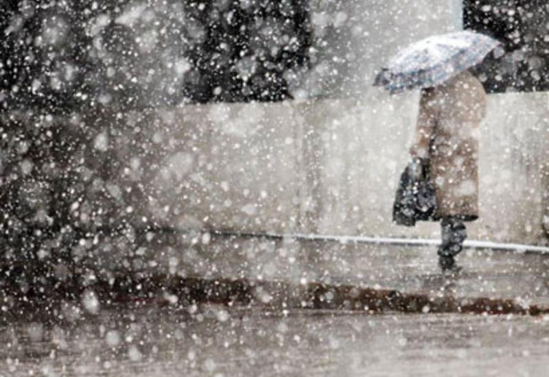 В Азербайджане стихнут снег и ветер