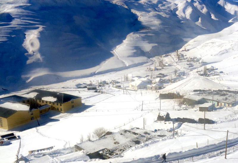 Мороз и солнце - невероятная зима в Хыналыге