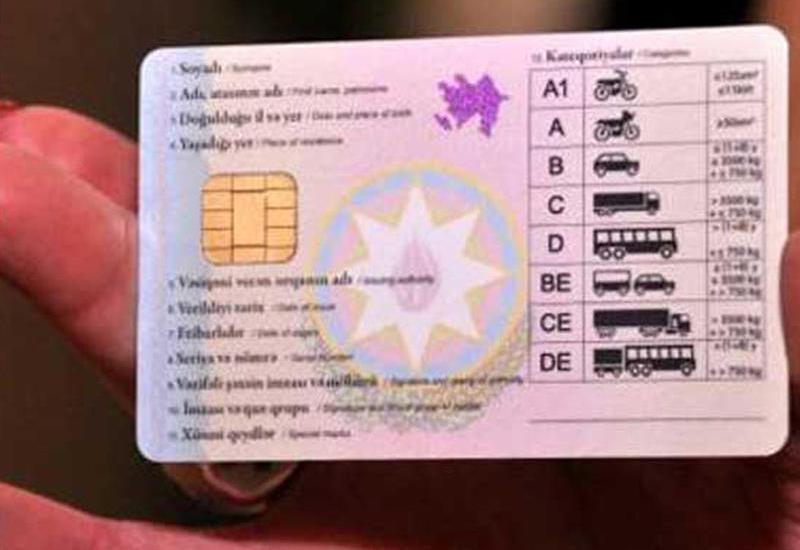 Какими будут новые водительские права в Азербайджане?