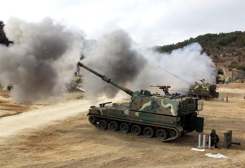 В Ханкенди слышны выстрелы азербайджанской артиллерии