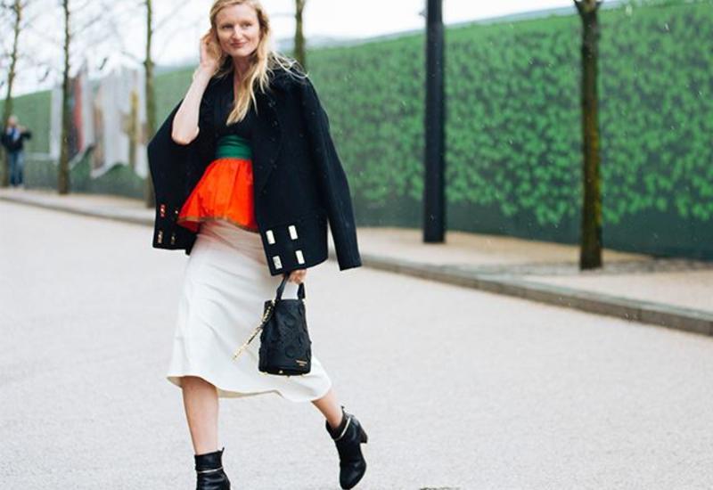 Образы Street style на London Fashion Week FW 2016