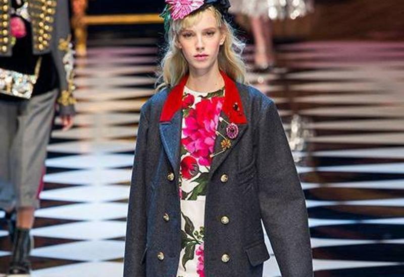 Коллекция Dolce & Gabbana на Milan Fashion Week