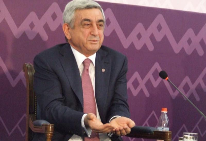 В Армении Саргсяну припомнили его китайский позор