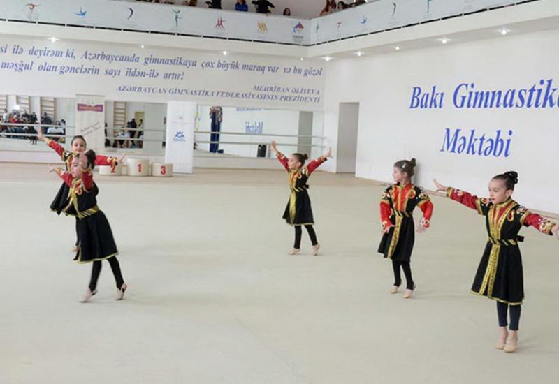 В Баку проходит второй Открытый кубок Təhsil по художественной гимнастике
