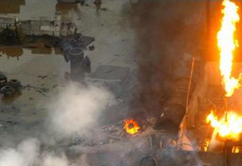 Сильный взрыв в Тбилиси, есть пострадавший